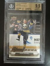 2015-16 UPPER DECK SERIES 1 YOUNG GUNS CANVAS JACK EICHEL BGS 9.5 WITH SUB 2X10