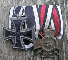 German army mounted medal group Iron Cross  WW1 ORIGINAL