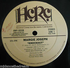 "MARGIE JOSEPH ~ Knockout ~ 12"" Single USA PRESS"