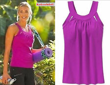 Athleta SECOND GLANCE Tank Top XXS Fushia Sport Bra Yoga Gym Pilate XX-SMALL