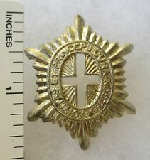 ORIGINAL WW2 Vintage CANADIAN ARMY GOVERNOR GENERAL'S FOOT GUARDS CAP BADGE