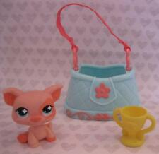 Littlest Pet Shop Country County Fair PIG/Purse Bag Tote Carrier He Wins Trophy