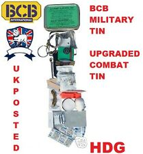 BRITISH ARMY & NATO BCB MILITARY SURVIVAL TIN KIT =ADVANCED COMBAT TIN SAS SF TA