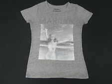 ANDRE DE DIENES MARILYN MONROE AT OCEAN PHOTO SMALL GRAY WOMANS T-SHIRT E2863