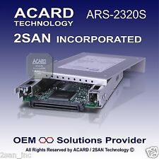 ACARD ARS-2320S Ultra320 SCSI-to-SATA II Hard Disk Drive (Non Hot SWAP - 80 Pin)