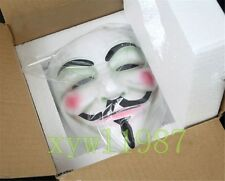 Great Guy Fawkes V FOR Vendetta Anonymous Resin Adult Masks Cosplay Halloween