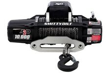 Smittybilt X2O-10K 98510 Comp Waterproof Wireless Synthetic Rope Winch Jeep 4X4