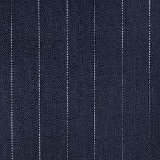 Holland and Sherry Navy Blue Pinstripe All Wool Suiting - 3.50 Mtrs