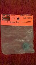 MDC crown gear - vintage 1/24th scale slot car parts
