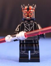 LEGO® STAR WARS™ 75169 DARTH MAUL™ Minifigure + Dual Red Lightsaber 100% LEGO