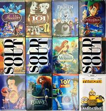 Disney DVD Lot PICK ANY 4: Snow White, Little Mermaid, Frozen, Aladdin + More