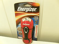 New Energizer AM/FM Radio Crank Radio Flashlight with siren 039800059987