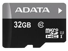 Adaptador de 32GB Adata Turbo microSDHC tarjeta de memoria de CL10 UHS-1 w/SD
