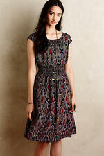 NEW ANTHROPOLOGIE Evaline Dress XS S Small by Maeve Black Motif