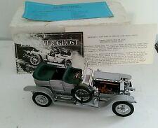 Rolls Royce Silver Ghost 1907 - echelle 1/24 - Marque Franklin Mint