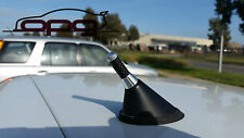 ANTENNA AERIAL STUBBY BEE STING VOLKSWAGEN VW MK4 MK5 R32 GOLF 3.5CM SILVER CARB
