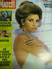 PARIS MATCH N° 1096  RAQUEL WELCH MANSON ASSASSIN DE SHARON TATE 1970