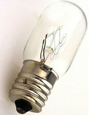 BRIGHT Clear 15W 120V T7 E17 Base Appliance Vacumm Light Bulb LONG LIFE 1500 Hrs