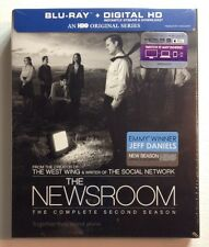 THE NEWSROOM: Second Season - MINT NEW DIGITAL/ BLU-RAY SET!!