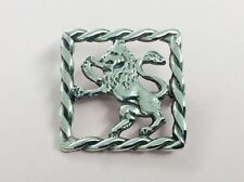 VINTAGE IN STERLING SILVER Scozzese Leone Spilla Pin 1950
