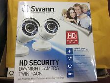 New Swann HD Security Day/Night All Weather Camera Twin Pack SWPRO-HDCAMWH2-WM