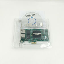 Dual Port PCI-E x1 1Gbps Intel 82576EB E1G42ET/EF E1G44ET Gigabit Server Adapter