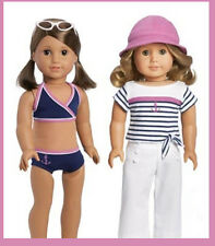 AMERICAN GIRL DOLL OUTFIT MY LIFE ON WATER 2 in 1 BEACH POOL SAIL BOAT LEA GRACE