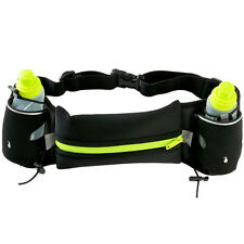 Sports Waist Pack Hiking Running Jogging Gym Wallet Belt Bag Water Bottle Pouch