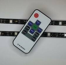RF REMOTE CONTROL RGB LIGHTING FOOTWELL/INTERIOR 2x 30CM STRIPS
