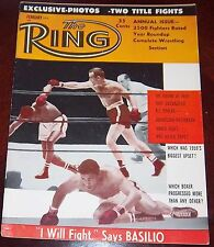 The Ring Magazine February 1960 Patterson / Johansson  Collectable