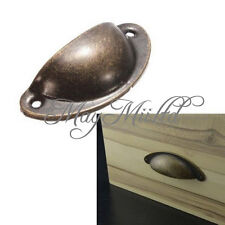 12X Kitchen Cupboard Door Cabinet Cup Drawer Furniture Shell Pull Handle Tool  ゃ