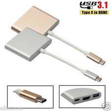 Unversal USB 3.1 Type C to HDMI with charging adapter Kayenne USB-C to HDMI Hub