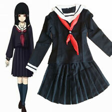 Hell Girl Enma Ai Girl School Uniforms Cosplay Set High quality Costume