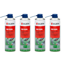 Genuine Wurth HHS Fluid - Grease Fluid Resistanct to Centrifugal Force 4 x 500ml