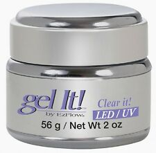 EzFlow LED/UV GEL IT! Clear It! 56 g / Net Wt. 2 oz - 42209