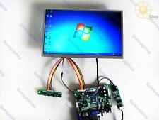 10.2 inch 1024X600 touch screen Display HDMI+AV+VGA+USB LCD control board kit