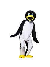 Adult Cool Penguin Fancy Dress Mascot Costume Animal Zoo Bird Antarctic BN