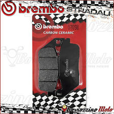 PLAQUETTES FREIN ARRIERE BREMBO CARBON CERAMIC KYMCO XCITING R ABS 500 2011