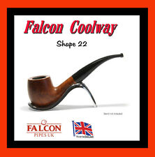 FALCON COOLWAY FILTER BRIAR PIPE (SHAPE No 22)