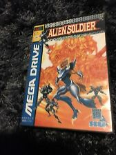 ALIEN SOLDIER - SEGA Mega Drive - JAP VERSION - Custum Perfect AAA+++