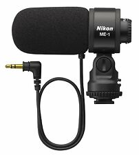 New Nikon ME-1 Stereo Microphone Shotgun On-Device Wired Japan