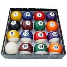 """American Pool Balls - Spots & Stripes - 2"""" Size"""