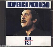 DOMENICO MODUGNO - Grandi scelte - CD 1987 COME NUOVO UNPLAYED