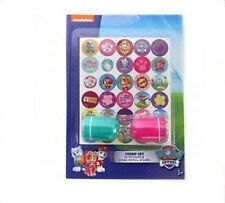 Nickelodeon Paw Patrol Skye Sticker Stamp Set 60 stickers and 2 stamps