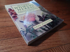 The Complete Woman's Herbal Manual of Healing Herbs Nutrition Alternative Health