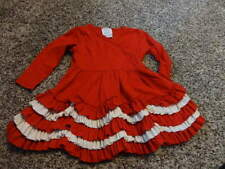 BOUTIQUE LEMON LOVES LAYETTE LIME 12-18 RED WHITE DRESS GORGEOUS