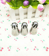 3 Icing Piping Russian Nozzle Converter Cake Cream DIY Decorating Tool