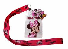 """Disney's Mickey Mouse Series Minnie Mouse 19"""" Lanyard Badge Holder"""