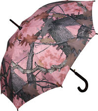 "UMBRELLA LARGE (45"") PINK CAMO CAMOUFLAGE FALL TRANSITION DESIGN"