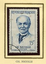 STAMP / TIMBRE FRANCE OBLITERE N° 1144 / CELEBRITE / CHARLES NICOLLE